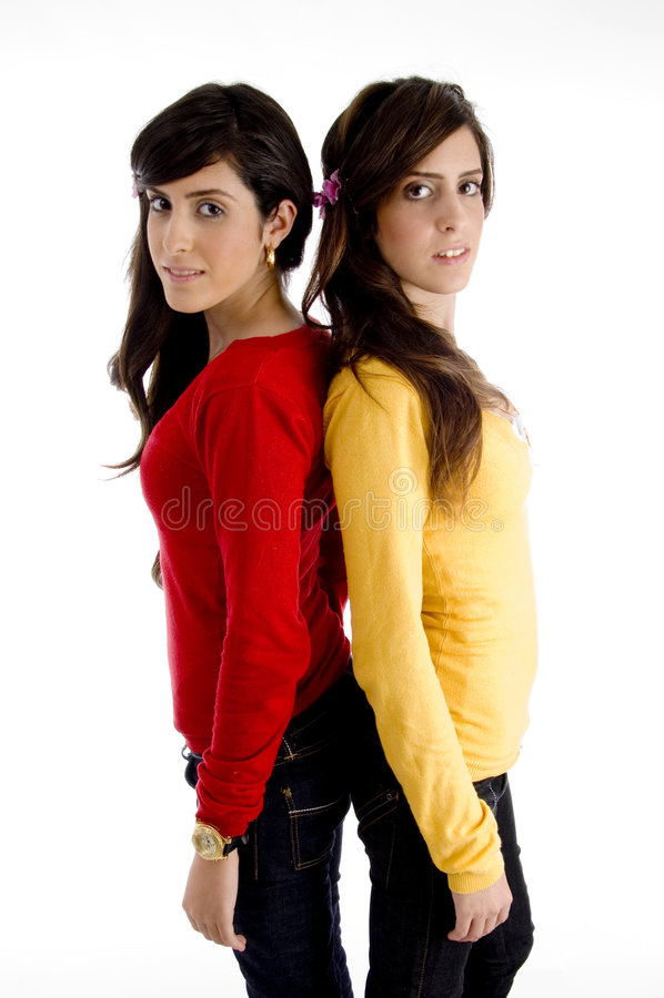 camera looking models posing young στοκ φωτογραφίες με δικαίωμα ελεύθερης χρήσης