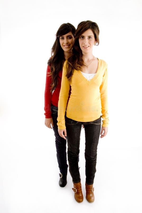 camera looking standing women young στοκ φωτογραφία με δικαίωμα ελεύθερης χρήσης
