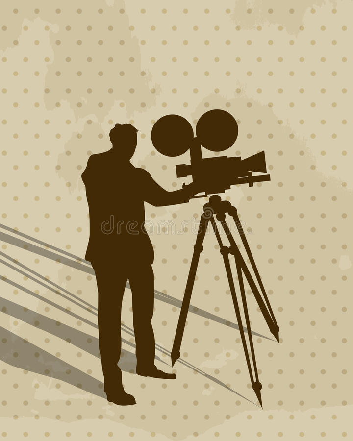 Download Camera Man Stock Photography - Image: 27479412