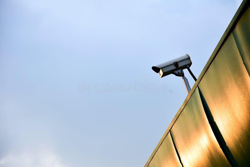 Camera met gesloten circuit om de dief te verhinderen te stelen royalty-vrije stock foto