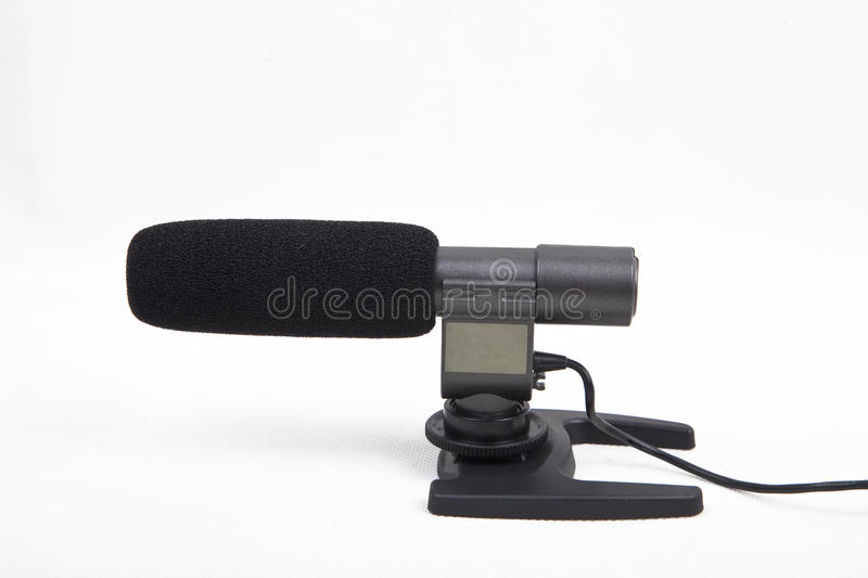 Camera microphone royalty free stock image