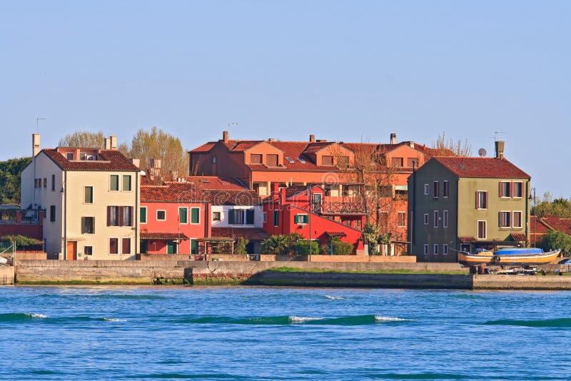 Camera nell'isola Venezia Italia di Lido fotografia stock libera da diritti
