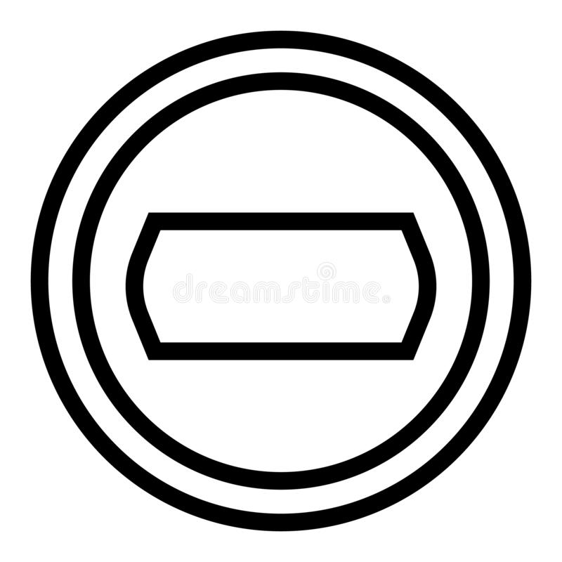 Camera objective line icon. Photo camera aperture vector illustration isolated on white. Lens outline style design. Designed for web and app. Eps 10 vector illustration