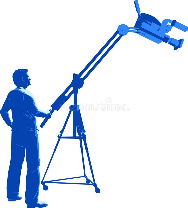 Download Camera Operator stock vector. Image of equipment, shoot - 9304875