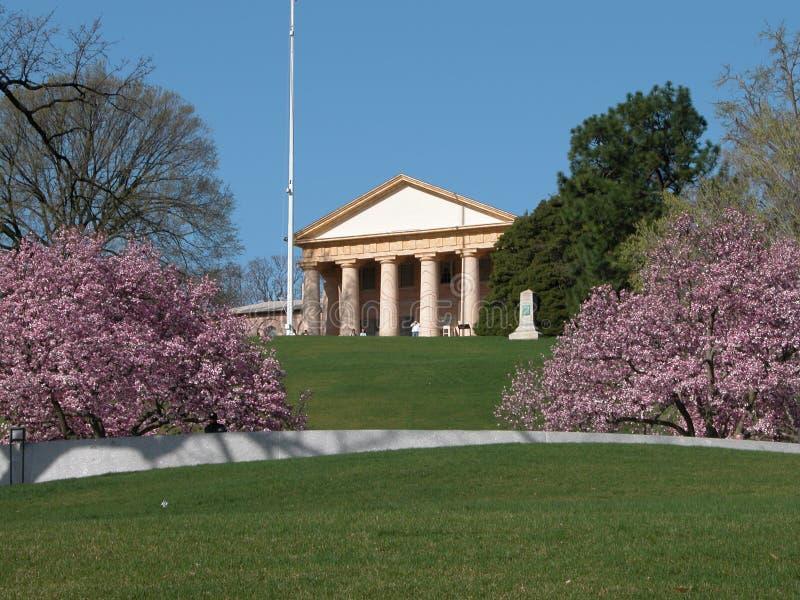 Camera ?palazzo di Arlington del Custis-Lee? fotografia stock libera da diritti