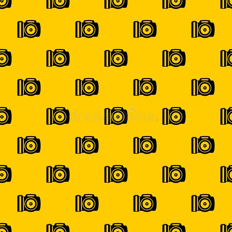 Camera pattern vector stock illustration