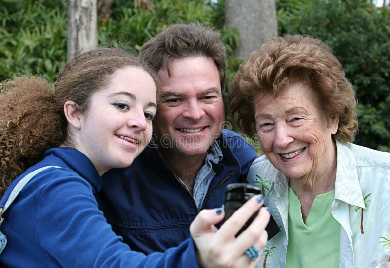 Camera Phone Photographer stock photos