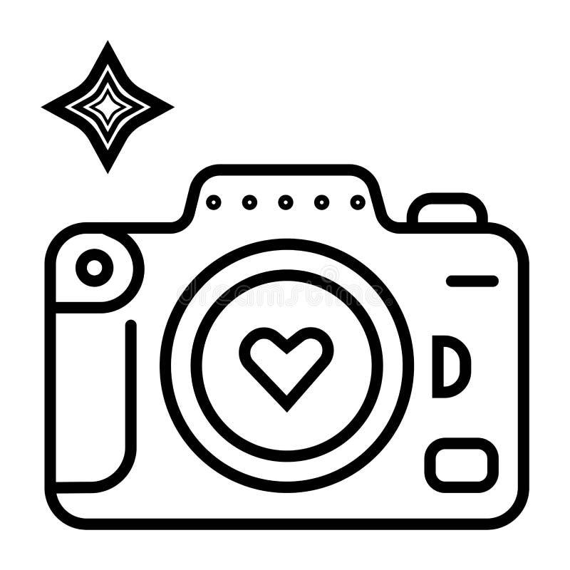 Camera photo icon vector stock illustration