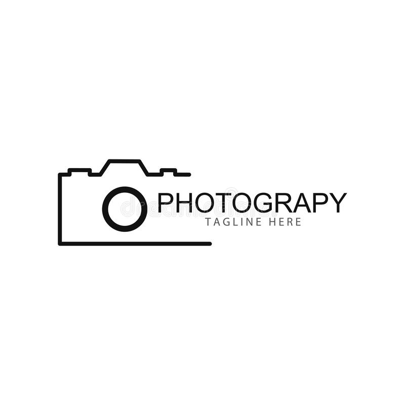 Camera Photography logo template vector icon illustration vector illustration