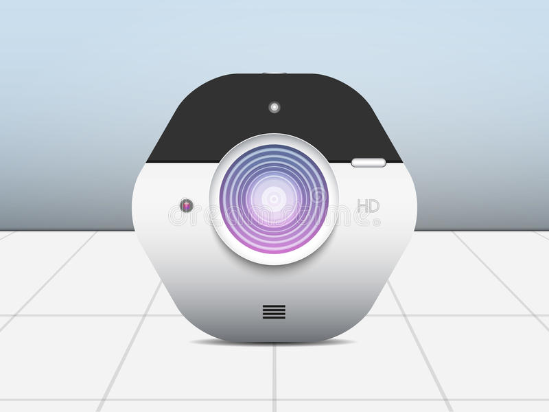 Camera for photography. stock illustration