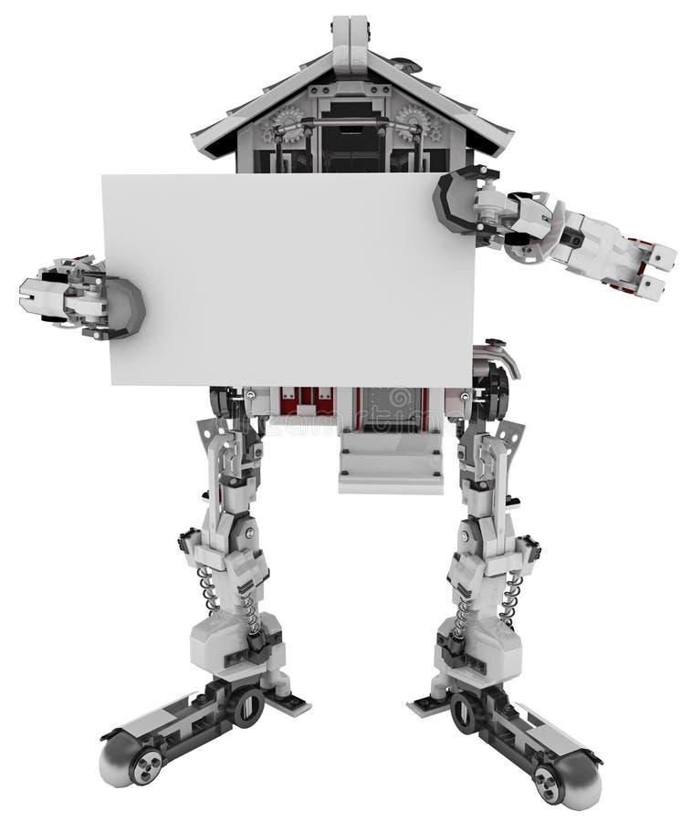 Camera robot, segno royalty illustrazione gratis