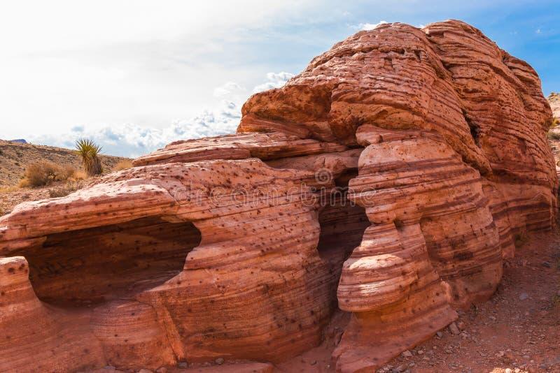Camera rossa della roccia fotografia stock