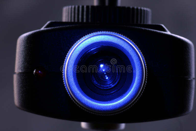 Camera for security. Surveillance camera for monitoring the camera for security royalty free stock photo