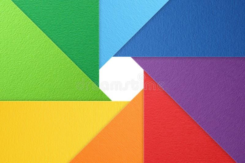 Camera shutter background, color wheel, natural textured background. Camera shutter background, photo symbol, color wheel, color paper, natural textured stock image