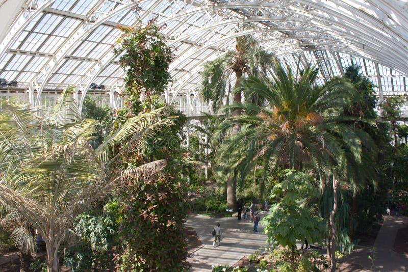 Camera temperata del giardino di Kew immagine stock