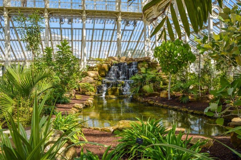 Camera temperata, giardini botanici reali di Kew, Londra, Regno Unito immagini stock
