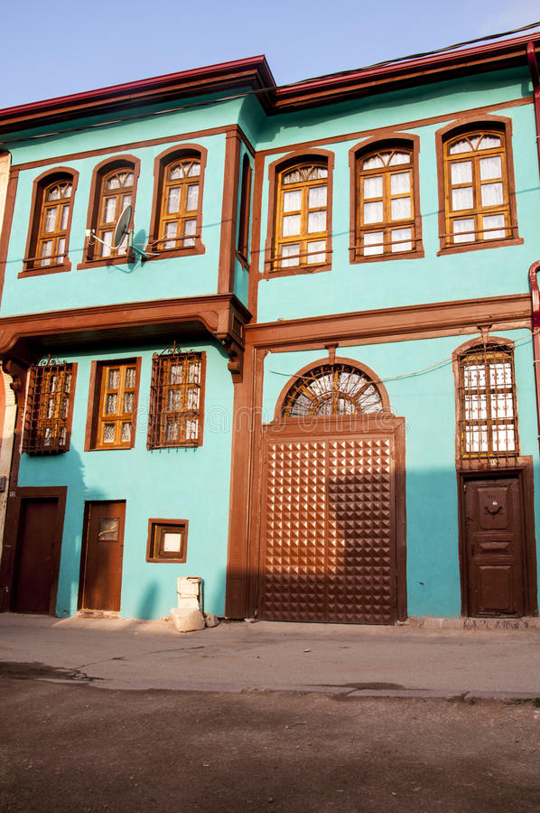Camera tradizionale dell'ottomano fotografia stock