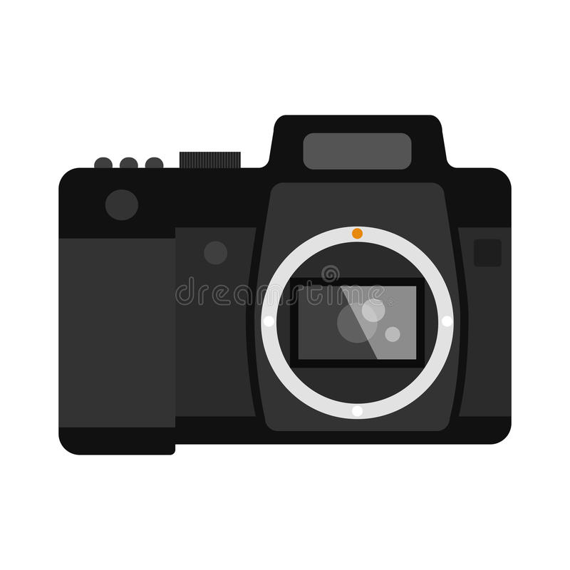 Camera Vectorillustratie royalty-vrije illustratie