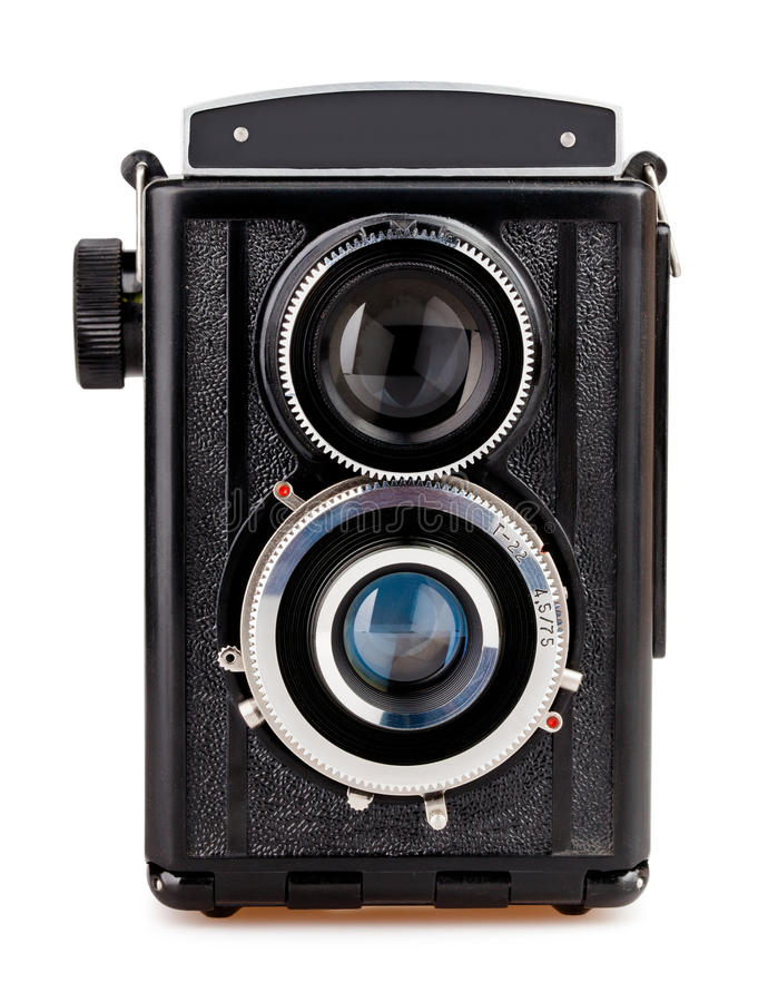 Download Camera vintage front stock photo. Image of obsolete, photo - 32953438