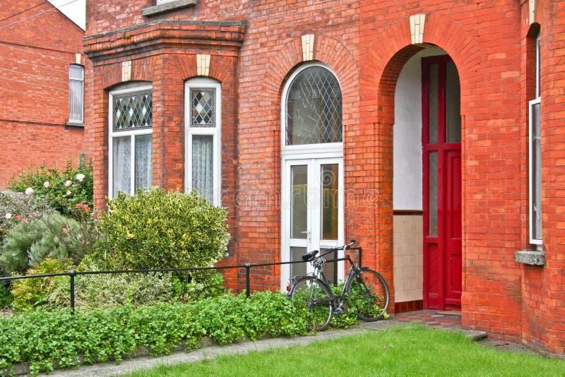 Camera vittoriana tradizionale, Dublino, Irlanda immagini stock