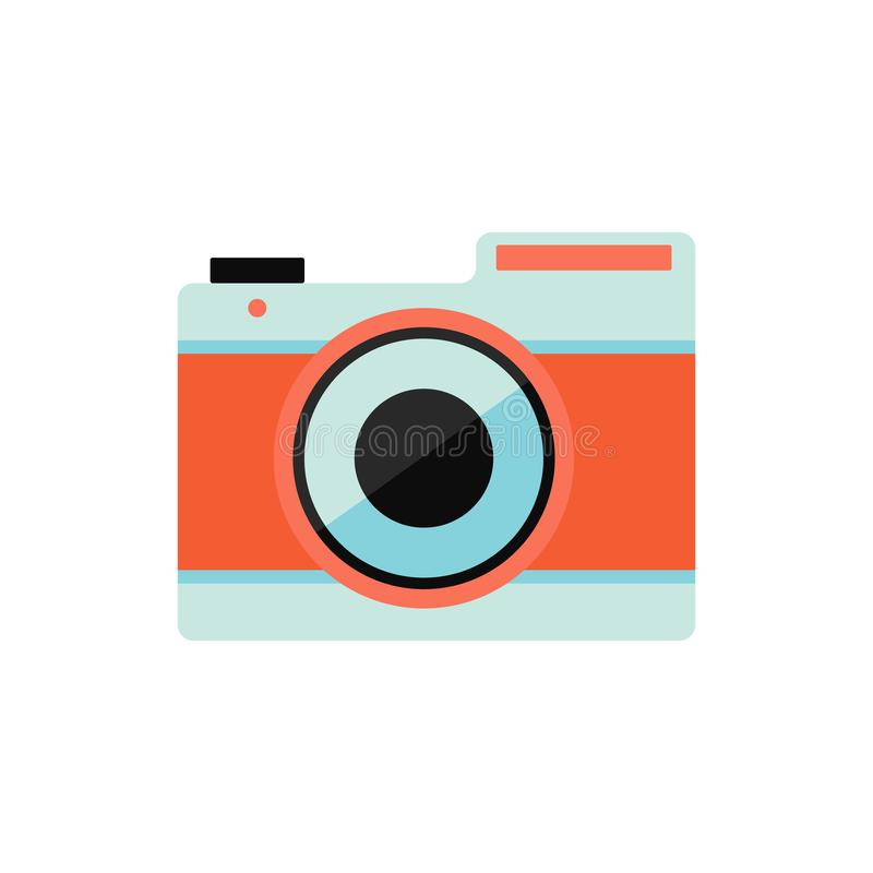 Camera voor het bewaren van uw beste ogenblikken royalty-vrije illustratie