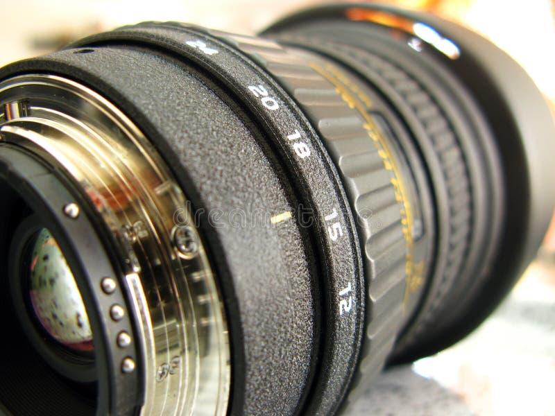 Camera Zoom Lens Stock Image