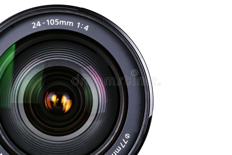 Camera zoom Lens royalty free stock photos