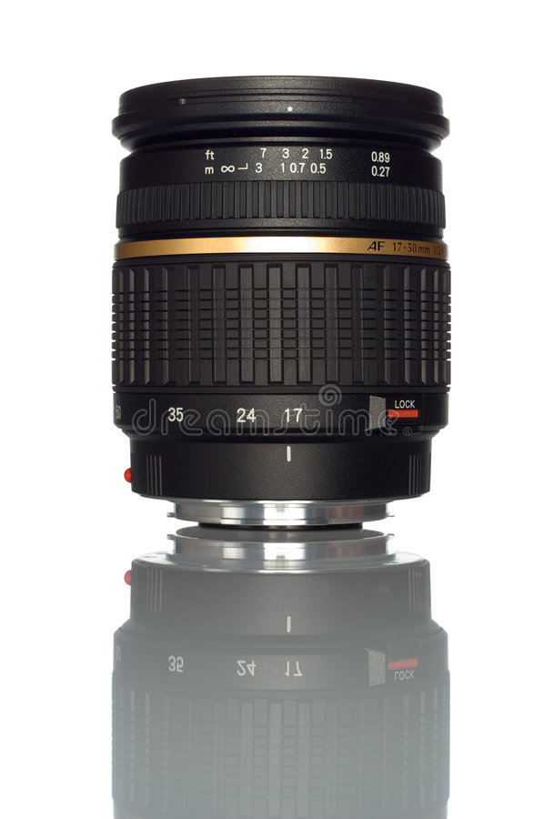 Download Camera zoom lens stock photo. Image of standard, focal - 3431336