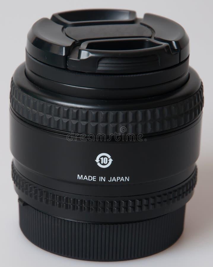 CameraDigital SLR de cameralens van SLR royalty-vrije stock afbeelding