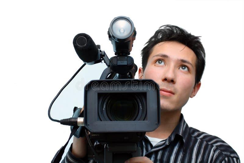 Cameraman fotos de archivo