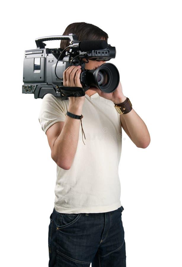 Cameraman. fotografía de archivo