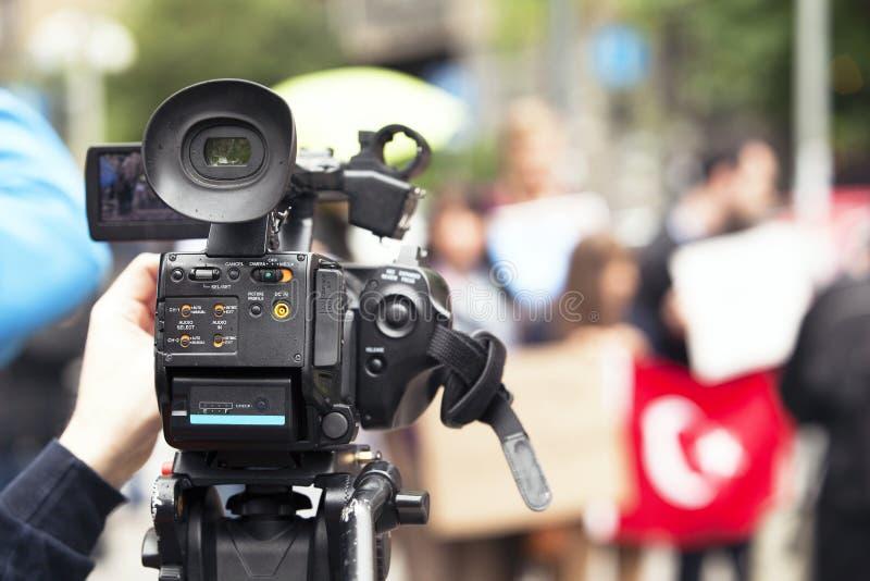 Cameraman image stock