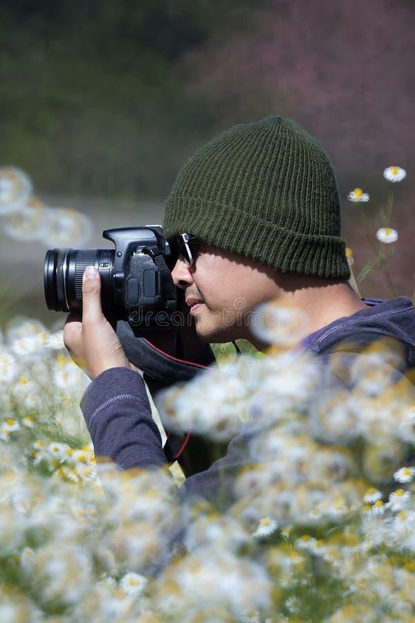 cameraman royalty-vrije stock foto