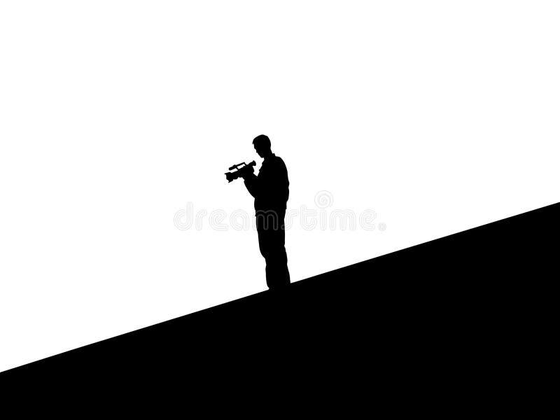 Cameraman vector illustration