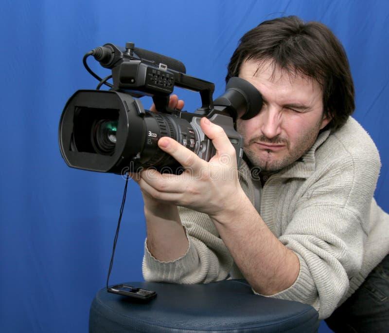 Download Cameraman image stock. Image du télévision, noir, cameraman - 8654343