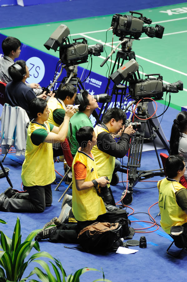 Download Cameraman in action editorial photo. Image of male, courts - 20364711