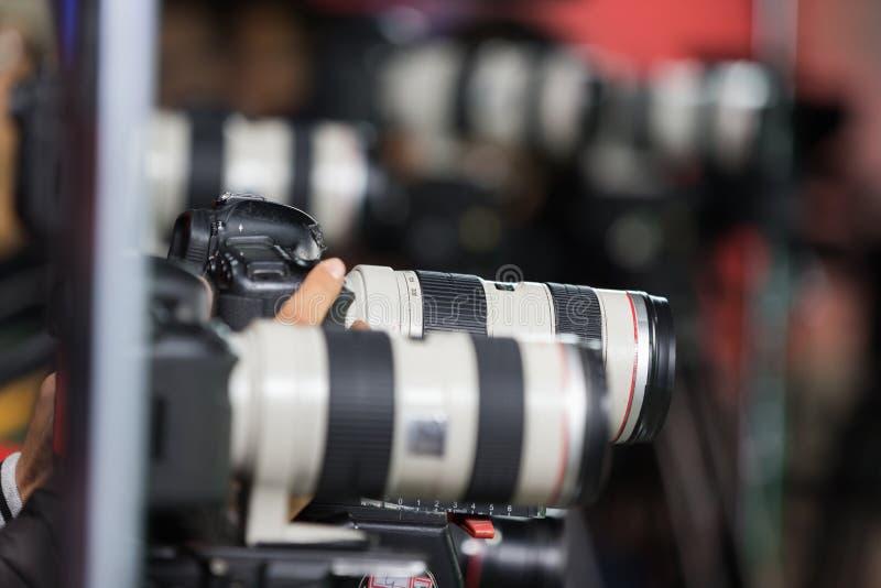 cameras fotografía de archivo libre de regalías