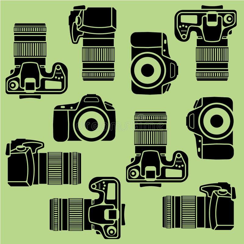 cameras stock de ilustración
