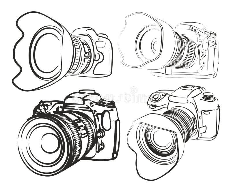 cameras διανυσματική απεικόνιση