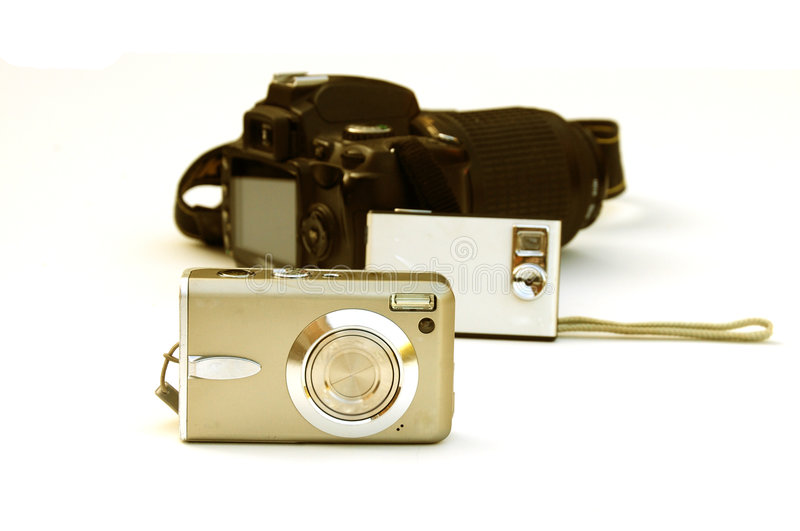 Download Cameras stock image. Image of zoom, dslr, digital, cameras - 6508213