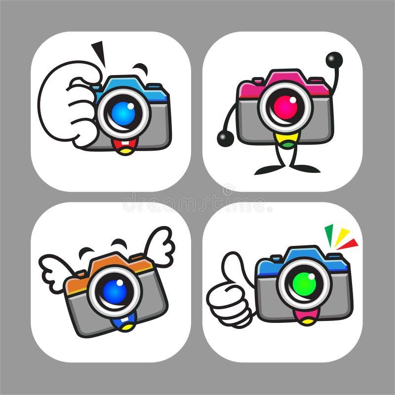 Cameras Mascot Stock Photos