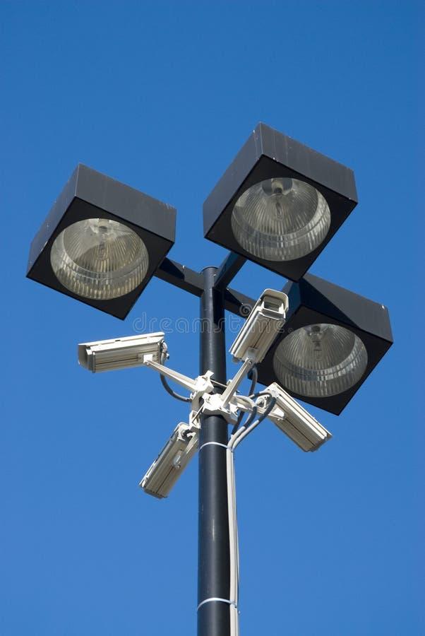 cameras surveillance στοκ φωτογραφία με δικαίωμα ελεύθερης χρήσης