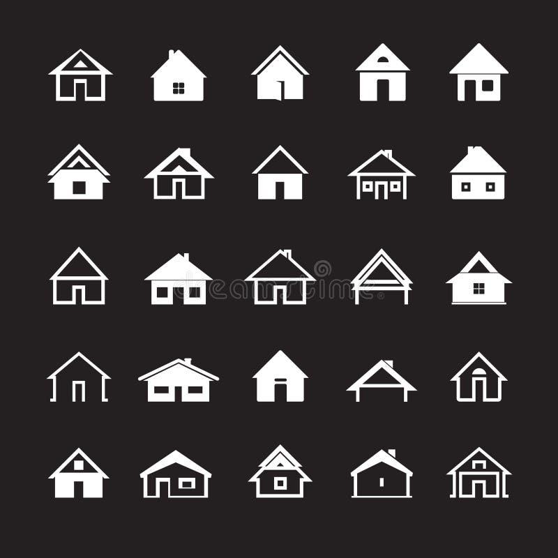 Camere bianche di vettore Illustrazione di vettore illustrazione di stock