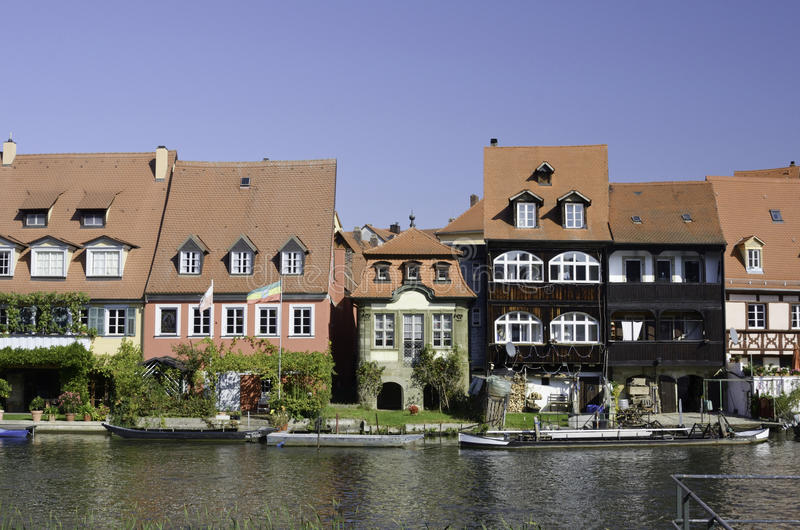 Camere del fiume di Bamberga fotografia stock libera da diritti
