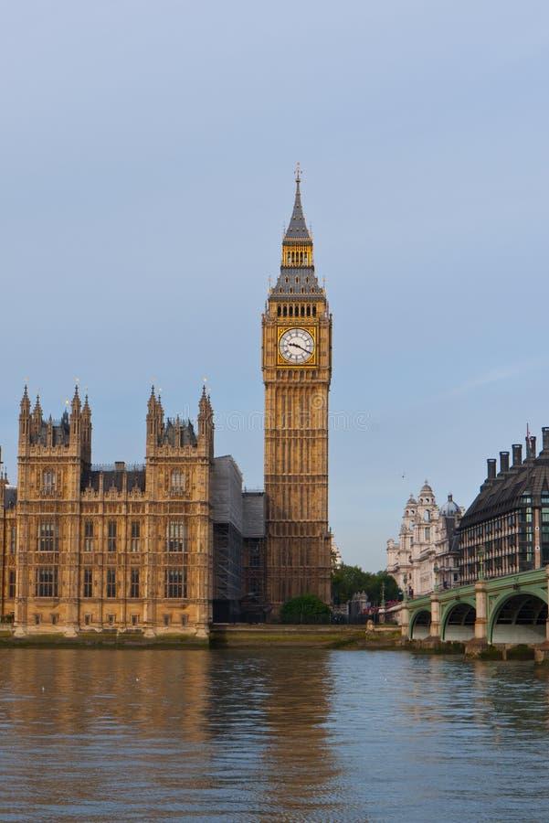 Camere del Parlamento e di grande Ben fotografie stock libere da diritti