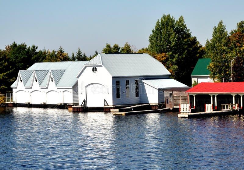 Camere di barca immagini stock