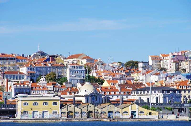 Camere di Lisbona, Portogallo. immagine stock