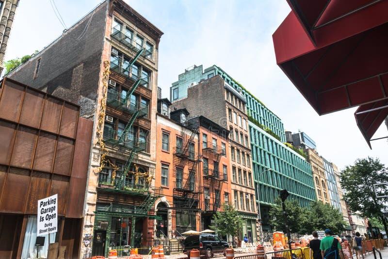 Camere in Manhattan, New York fotografia stock