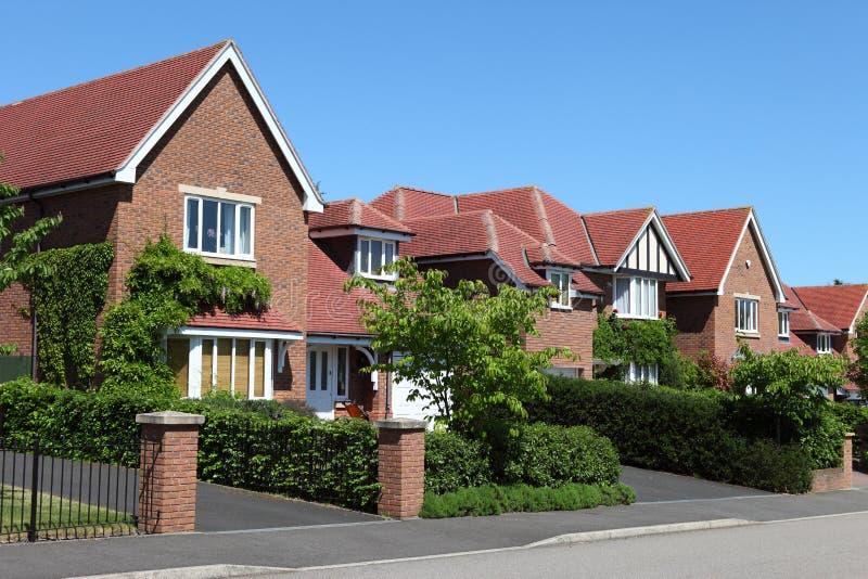 Camere suburbane moderne fotografie stock libere da diritti