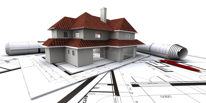 Camere sul programma dell'architetto royalty illustrazione gratis